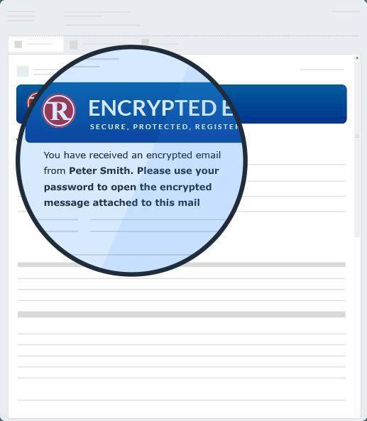 krypteret email