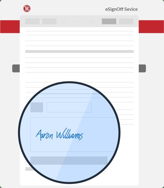 Indhent digitale underskrifter
