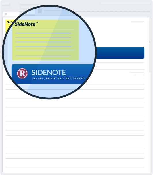 SideNote® & meget mere