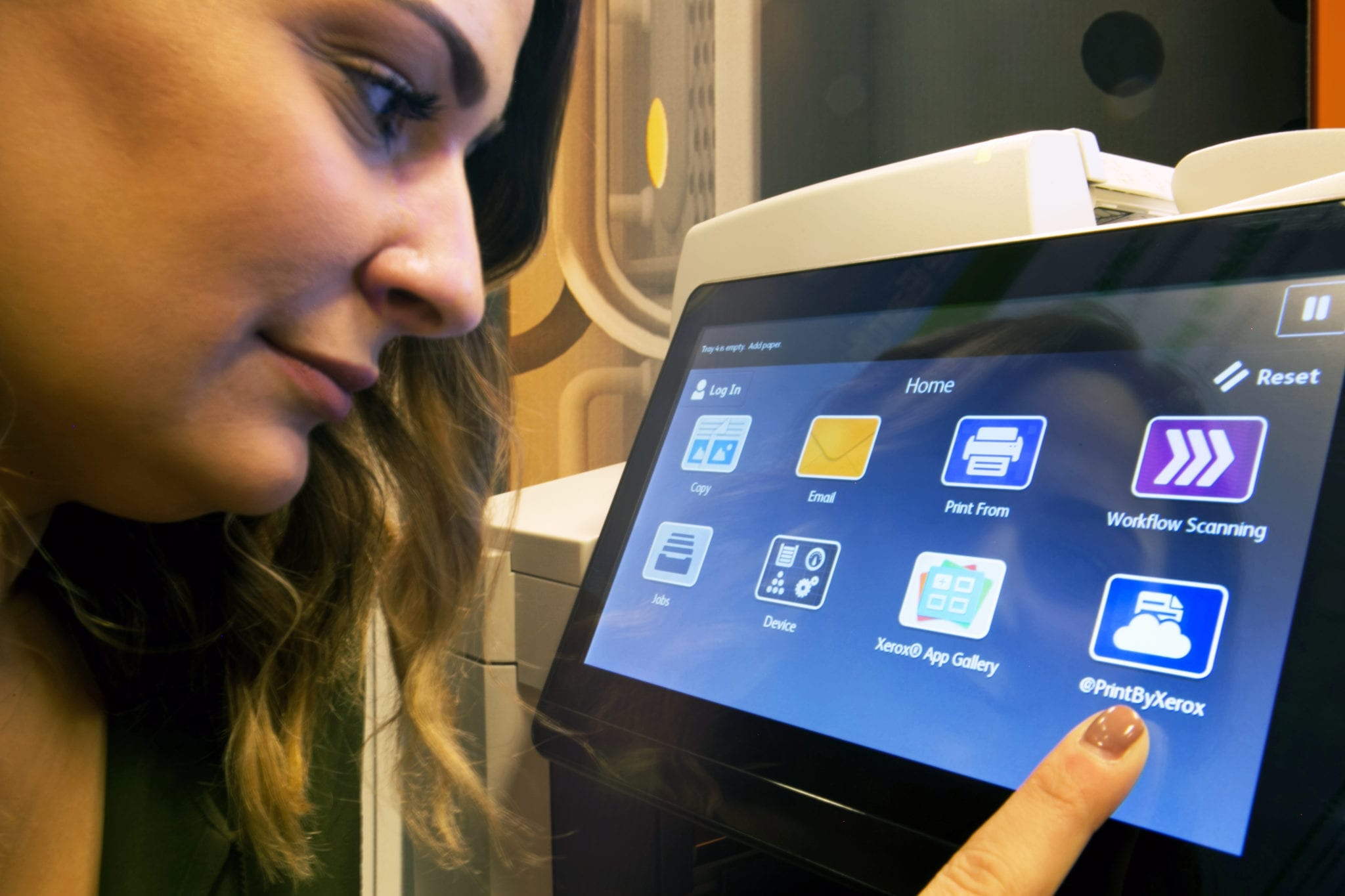 Xerox engineers develop UI for Xerox ConnectKey enabled MFPs that integrates with app world